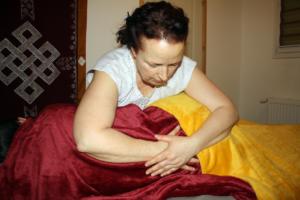 massage enveloppant femme enceinte