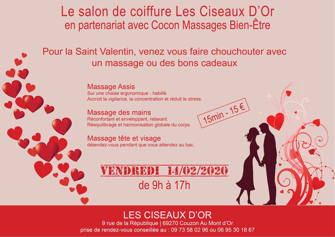 Massage saint valentin